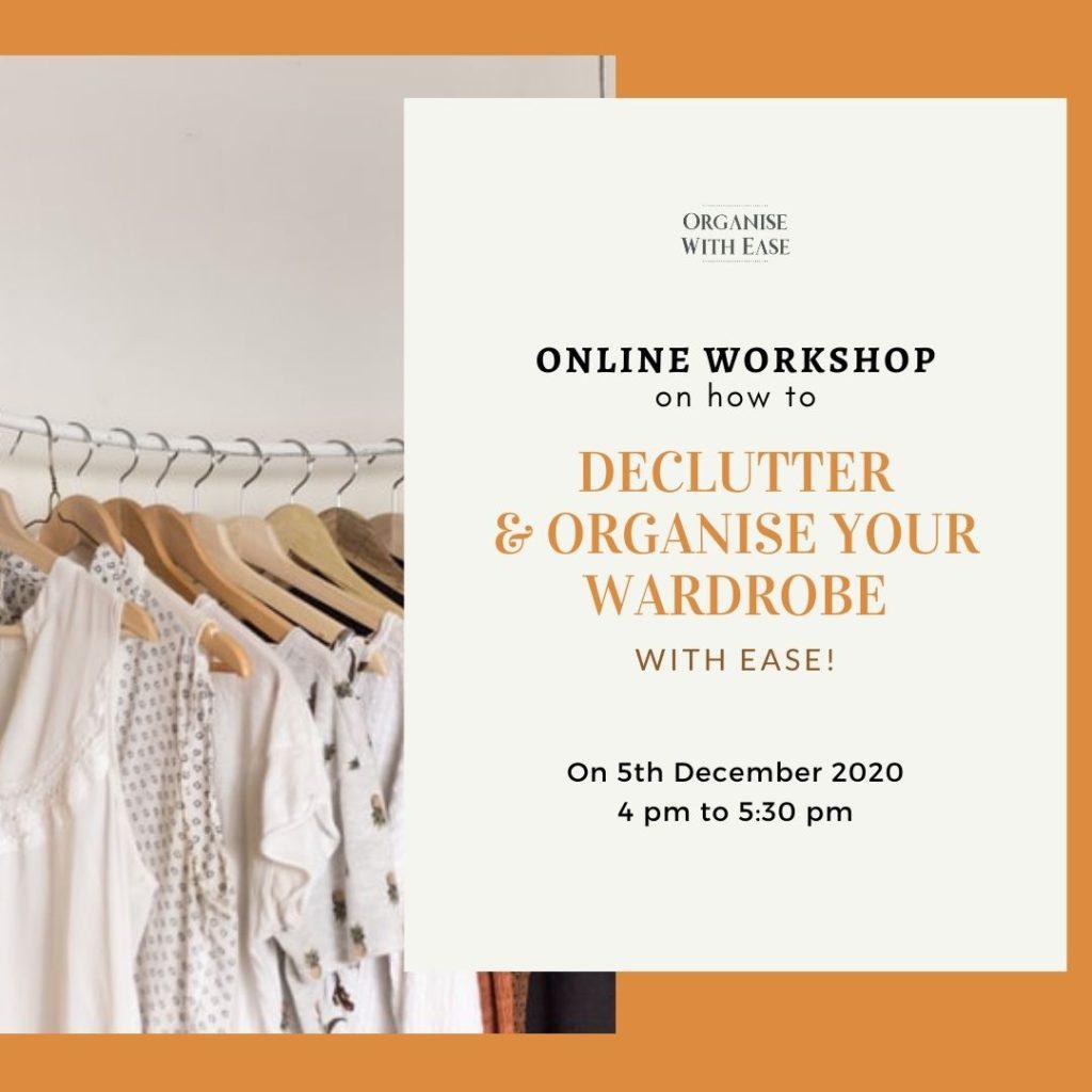 Declutter & Organise Your Wardrobe - Online Workshop