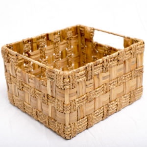 Hyacinth Metal Baskets